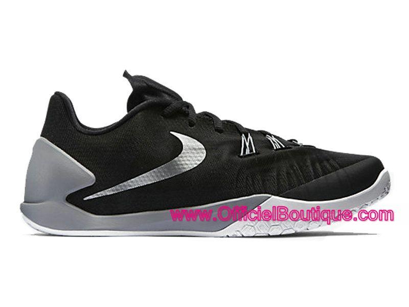 74e1551fc4a Chaussures Nike Baskets Pas Cher Pour Homme Officiel Nike HyperChase (James  Harden) Noir Gris loup-Blanc-Argent métallique 705363-002
