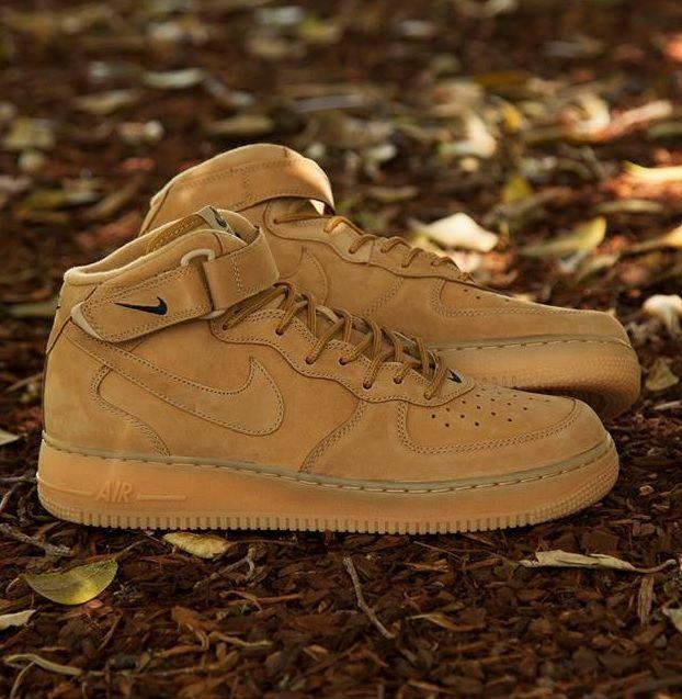 new arrival 3881f 61506 Nike Air Force 1 Hi  Wheat
