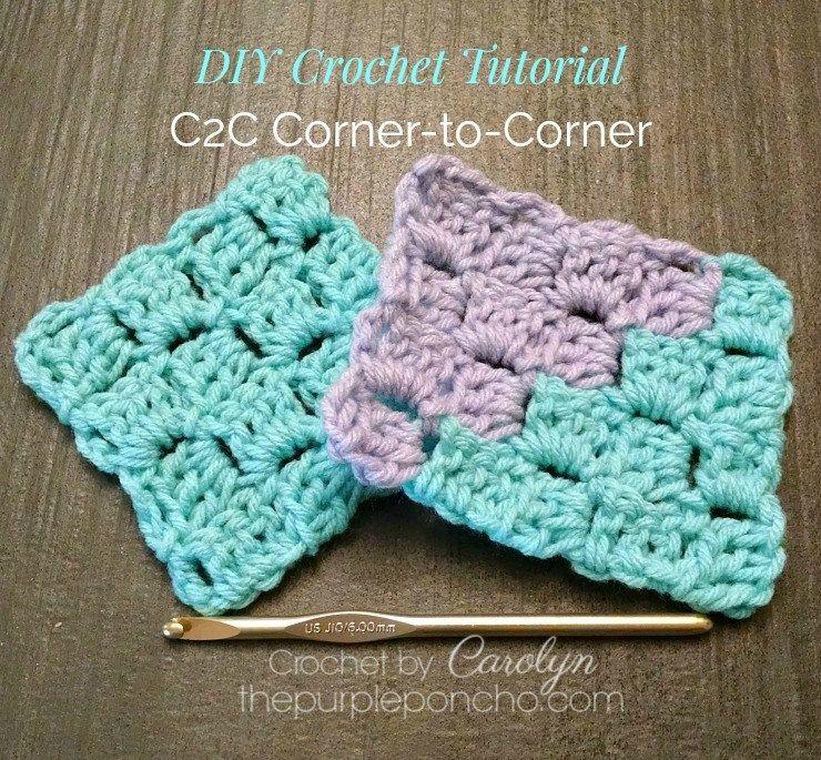 Resultado de imagen de c2c crochet tutorial | muestras | Pinterest ...
