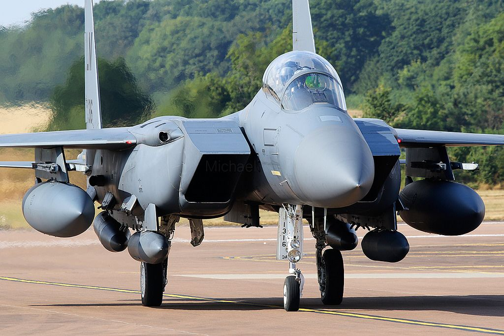 McDonnell Douglas F15E Strike Eagle 910316/LN Fighter