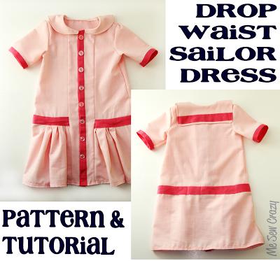 Love in Paris Dress {Pattern and Tutorial   Kinderkleider ...