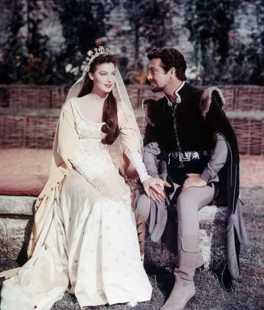 Knights of the Round Table (1953) - Ava Gardner and Richard Taylor