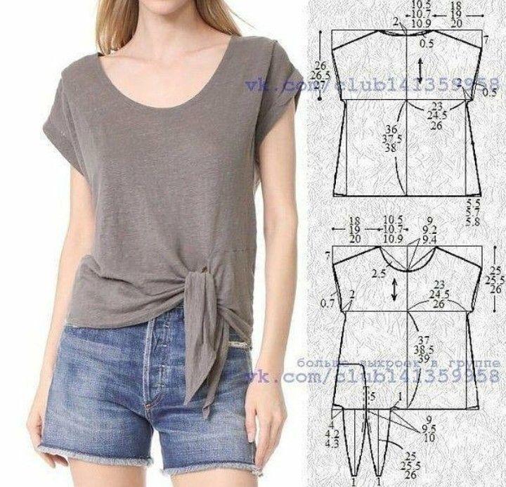 Pin von Nora Parra auf blusas | Pinterest | Blusen, Stricken und ...