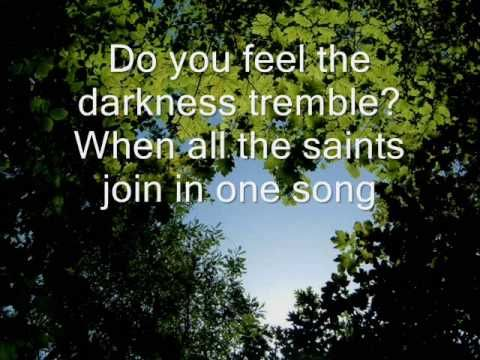 Did You Feel The Mountains Tremble Hillsong United Letra Em