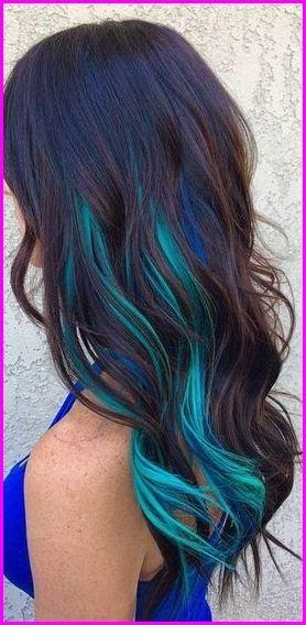 Pin By Esperanza Moreno On Hair Blue Hair Highlights Kids Hair