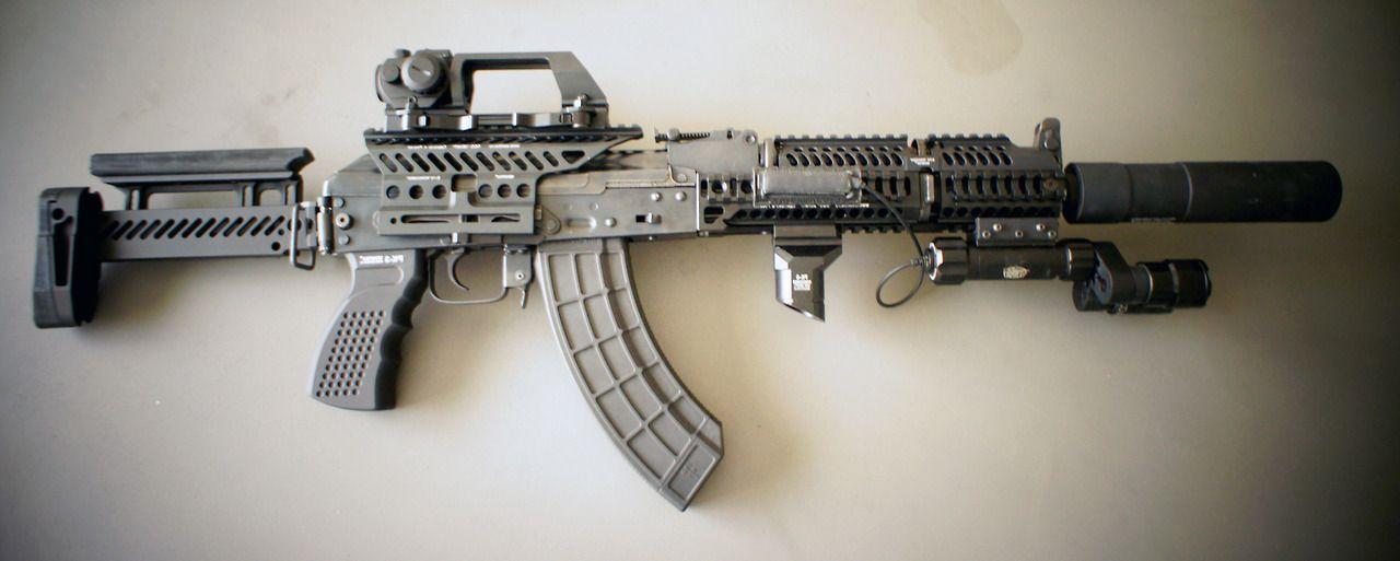 AK Zenitco | AK | Guns, Custom guns, Battle rifle