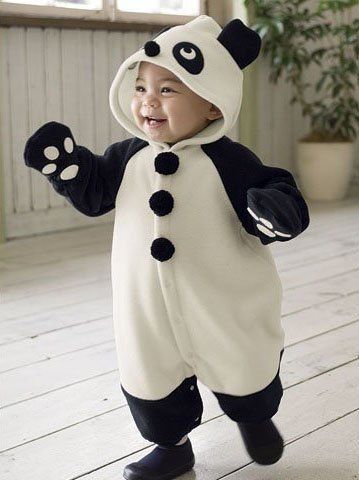 1859f86ac baby fashion New Panda design romper