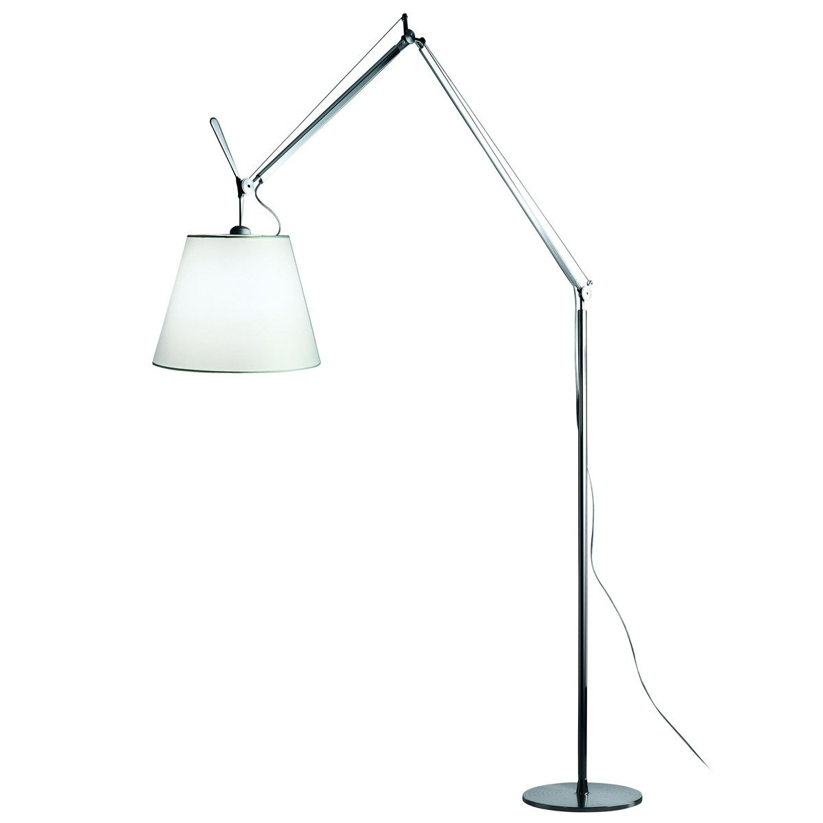 Tolomeo Mega Terra Stehleuchte Von Artemide Contemporary Floor Lamps Floor Lights Lamp