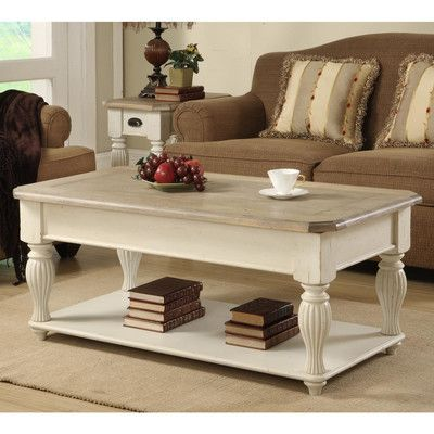 Riverside Furniture Coventry Two Tone Coffee Table With Lift Top U0026 Reviews  | Wayfair