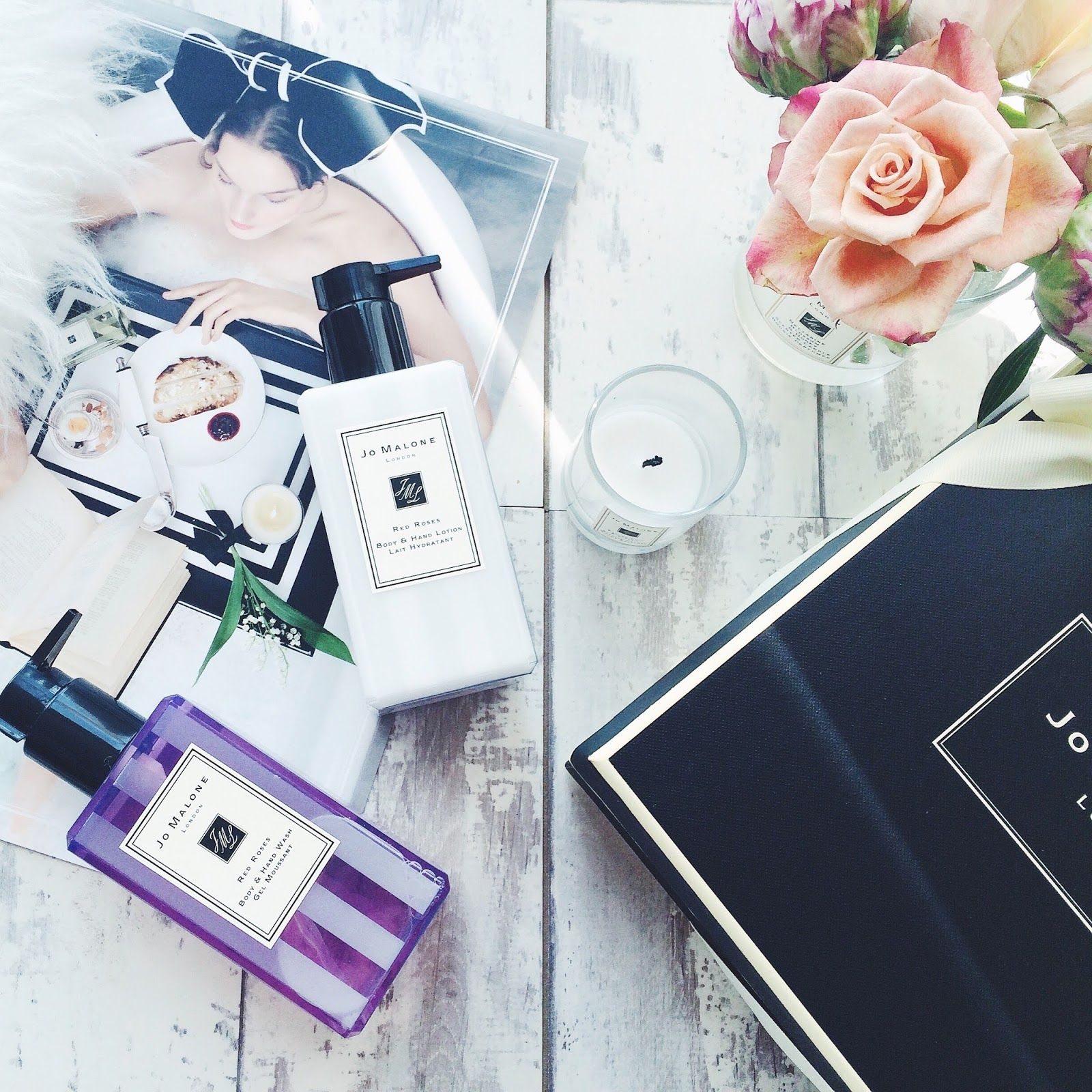 7dcc1fc68c504 Jo Malone Bath and Body Collection- Flat Lay Jo Malone, Beauty Junkie, Flat