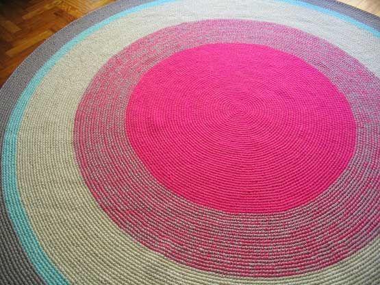 Alfombra crochet tejidos Pinterest Ganchillo, Diseños de