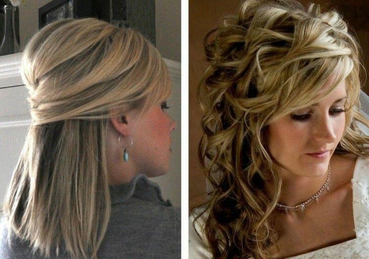 peinado liso o rizado suelto - Peinados Lisos