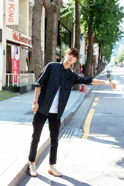 Korean Male Models is part of Korean street fashion - Shin Jihoon for Cole Haan X Pro Fashional MAN