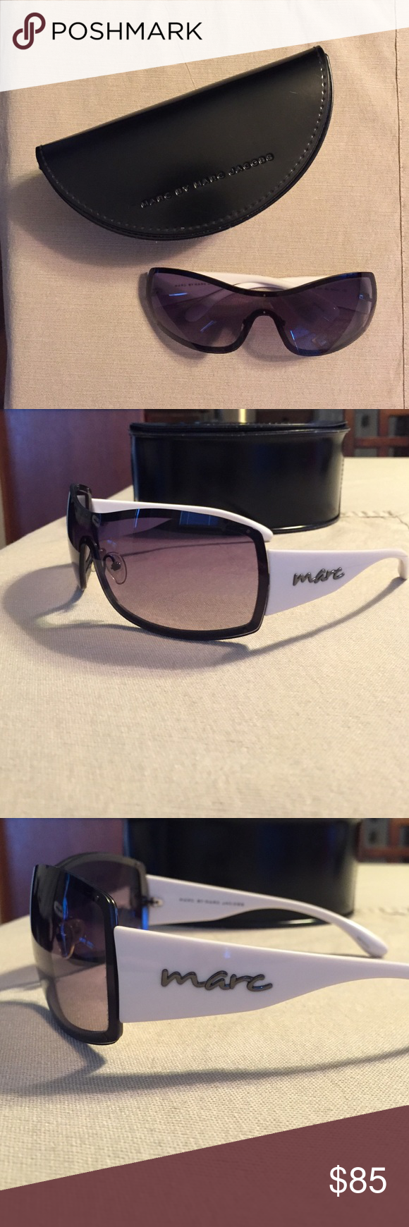 Marc by Marc Jacobs Sunglasses Good condition. Only minor scratches on the lenses, normal wear Marc by Marc Jacobs Accessories Sunglasses
