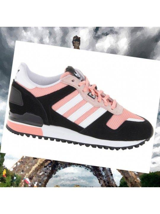 Royaume-Uni disponibilité 6ca3e 40c21 Adidas Originals ZX 700 Femmes W - Sneakers Laag - Noire et ...