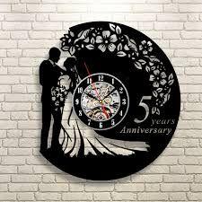 Amazing Vinyl Record Wall Clock Bar Cafe Restaurant Siesta Kitchen Decor