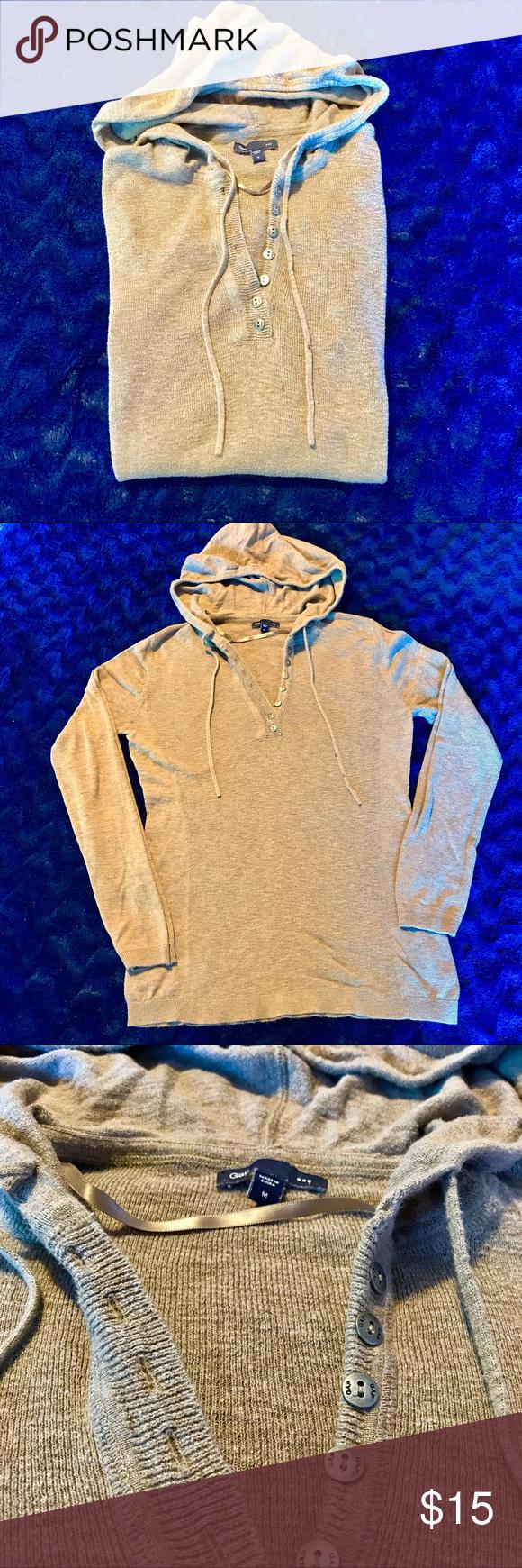 GAP lightweight sweater hoodie | Sweater hoodie and Hoods