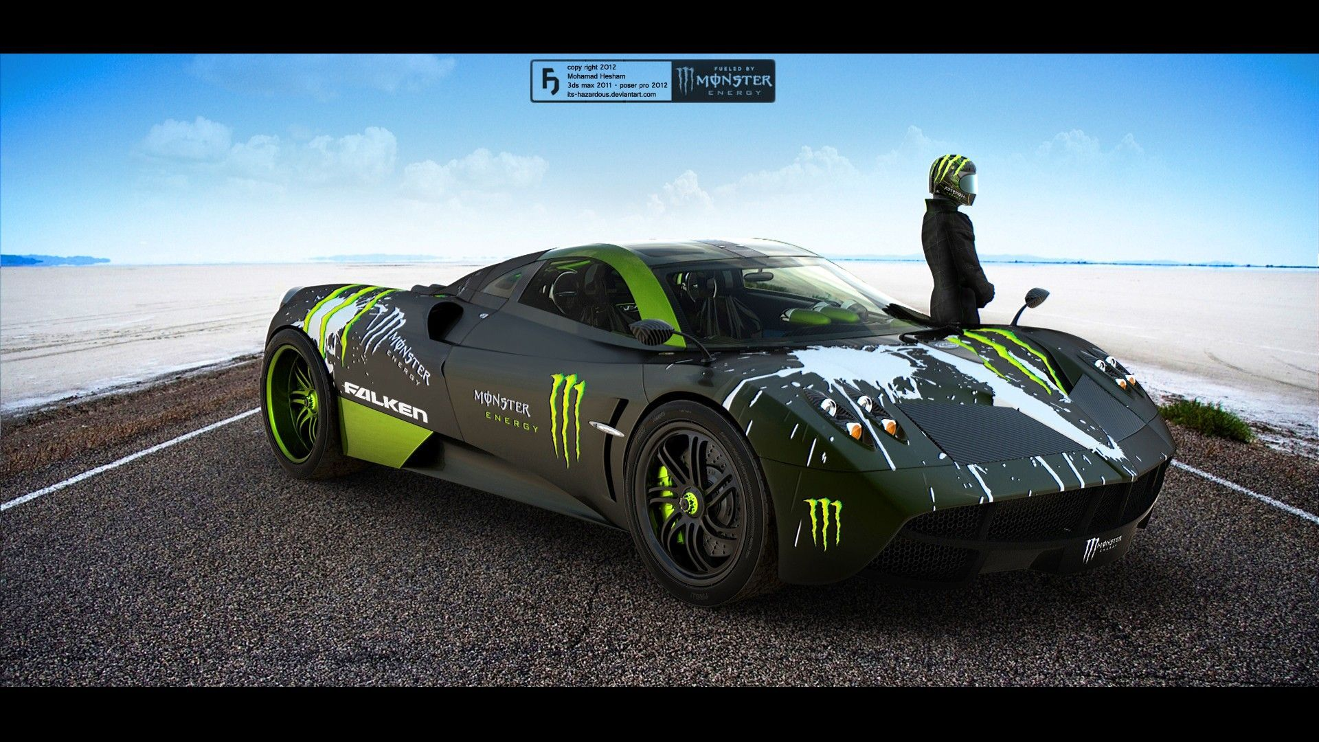 Monster Energy Car Wallpaper