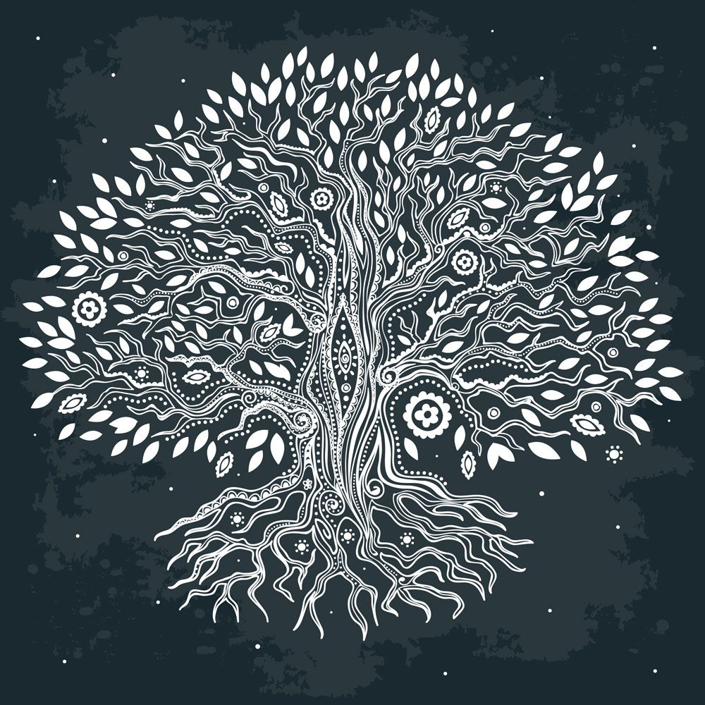 Tree Of Lifeis Used In Art Literature And Religion To Illustrate