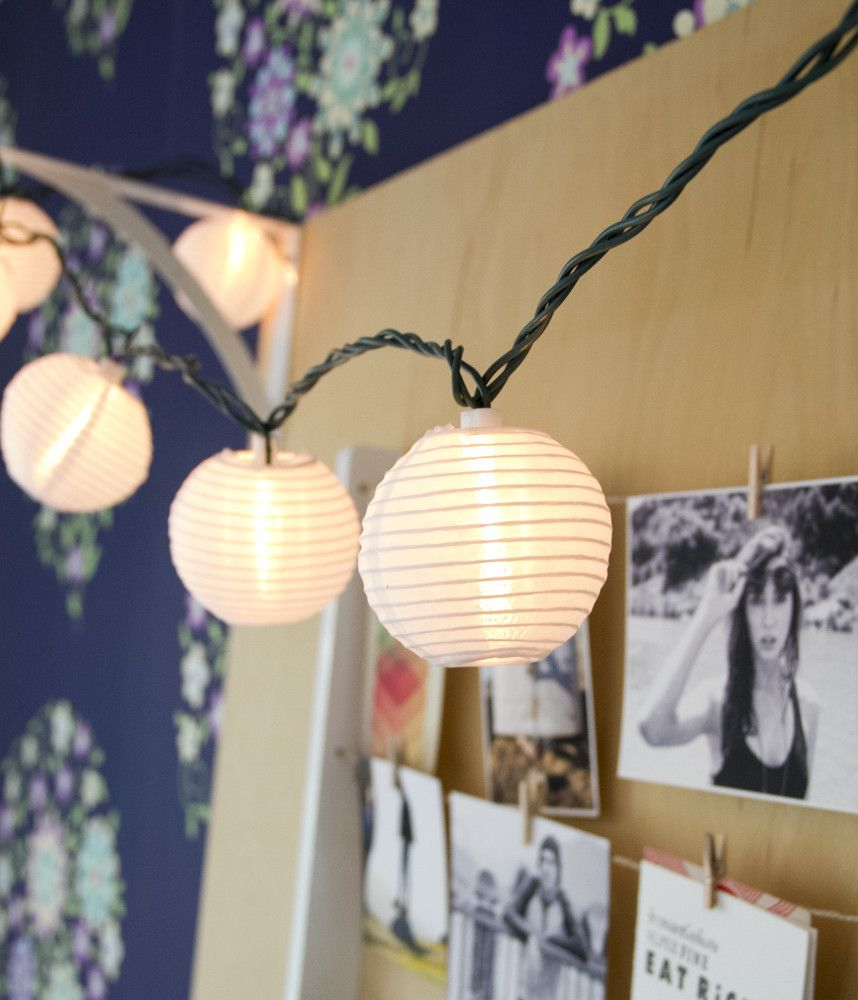 Mini Paper Orb String Lights Also Available For 15 Via Target