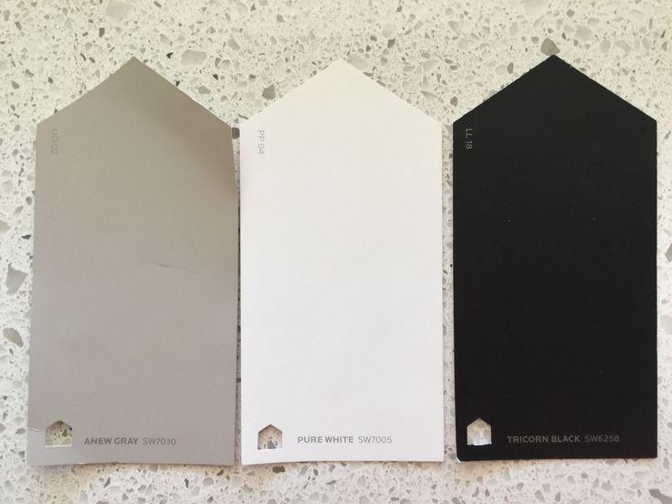 image result for tricorn black sherwin williams in. Black Bedroom Furniture Sets. Home Design Ideas