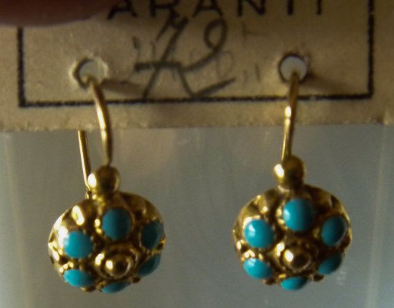 Turquoise Earrings Antique Google Search