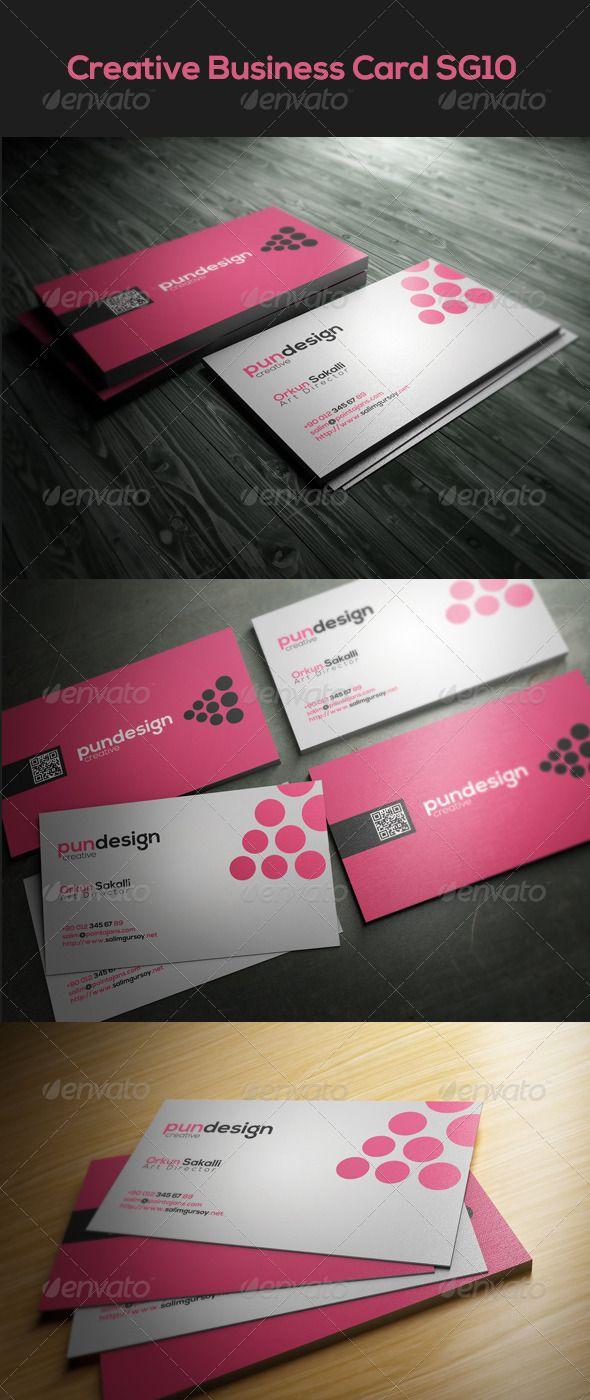 Creative Business Card SG10