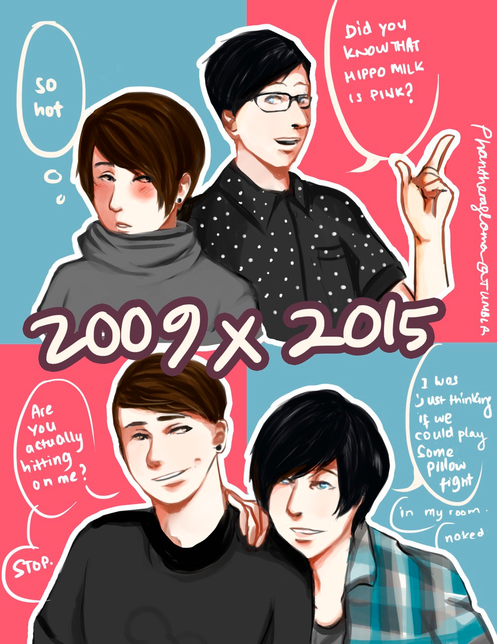 Image About Fanart In P H A N By Meowzerz On We Heart It In 2020 Dan And Phil Fanart Dan And Phil Dan And Phill