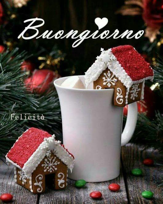 Immagini Del Buongiorno Di Natale.Pin Di Enrica Greghi Su Frasi Citazioni Buongiorno Auguri