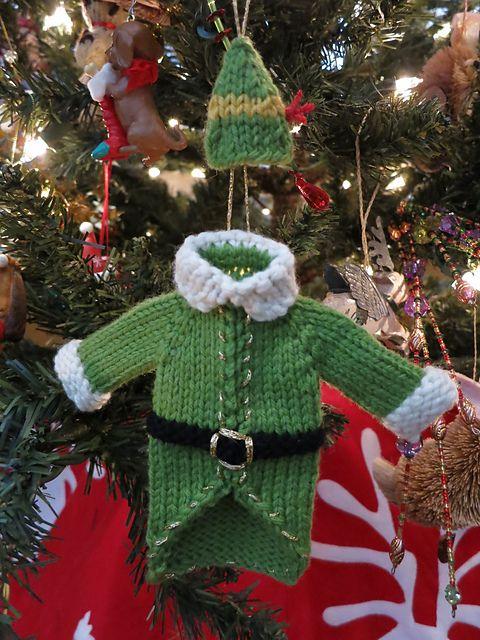 Buddy The Elf Sweater Hat Christmas Knitting Patterns Knit Christmas Ornaments Christmas Knitting