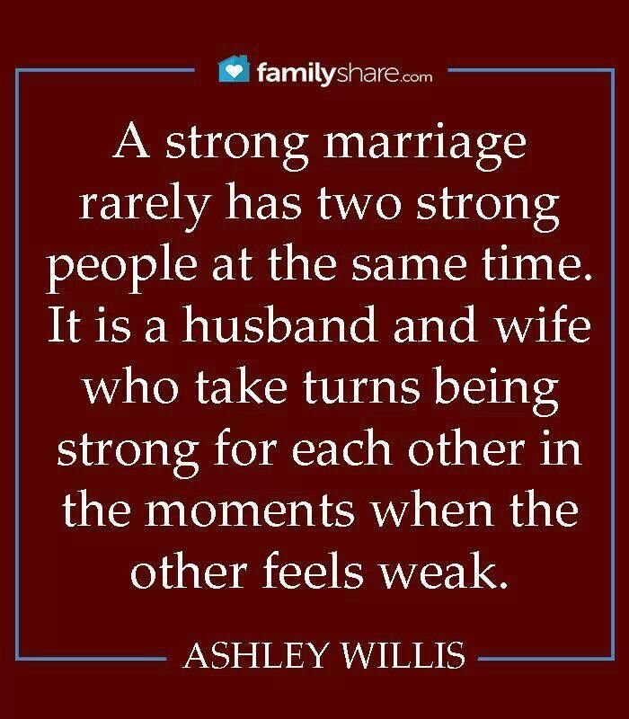 Strong for Each other!!