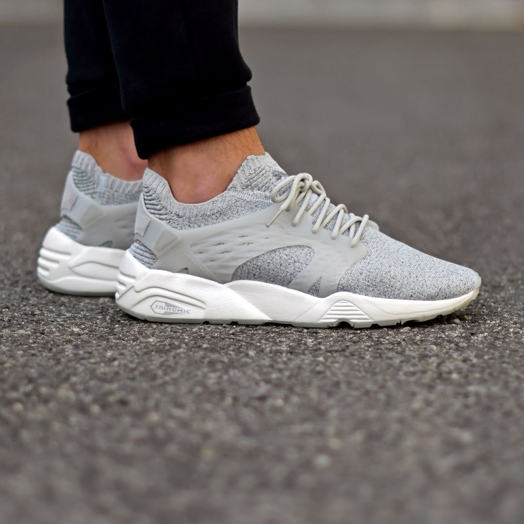 Puma Blaze Cage Evoknit Steel Gray . Disponible/Available: SNKRS.COM