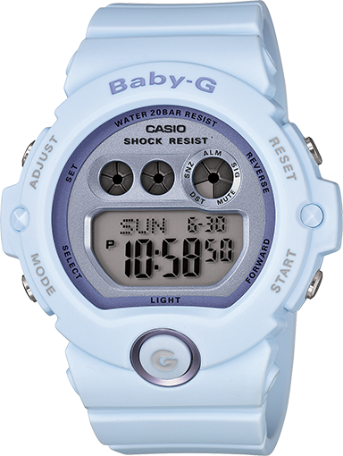 Soft and Subdued Baby-G colors, however not soft on performance! | Baby g  shock, Casio baby g shock, Womens watches