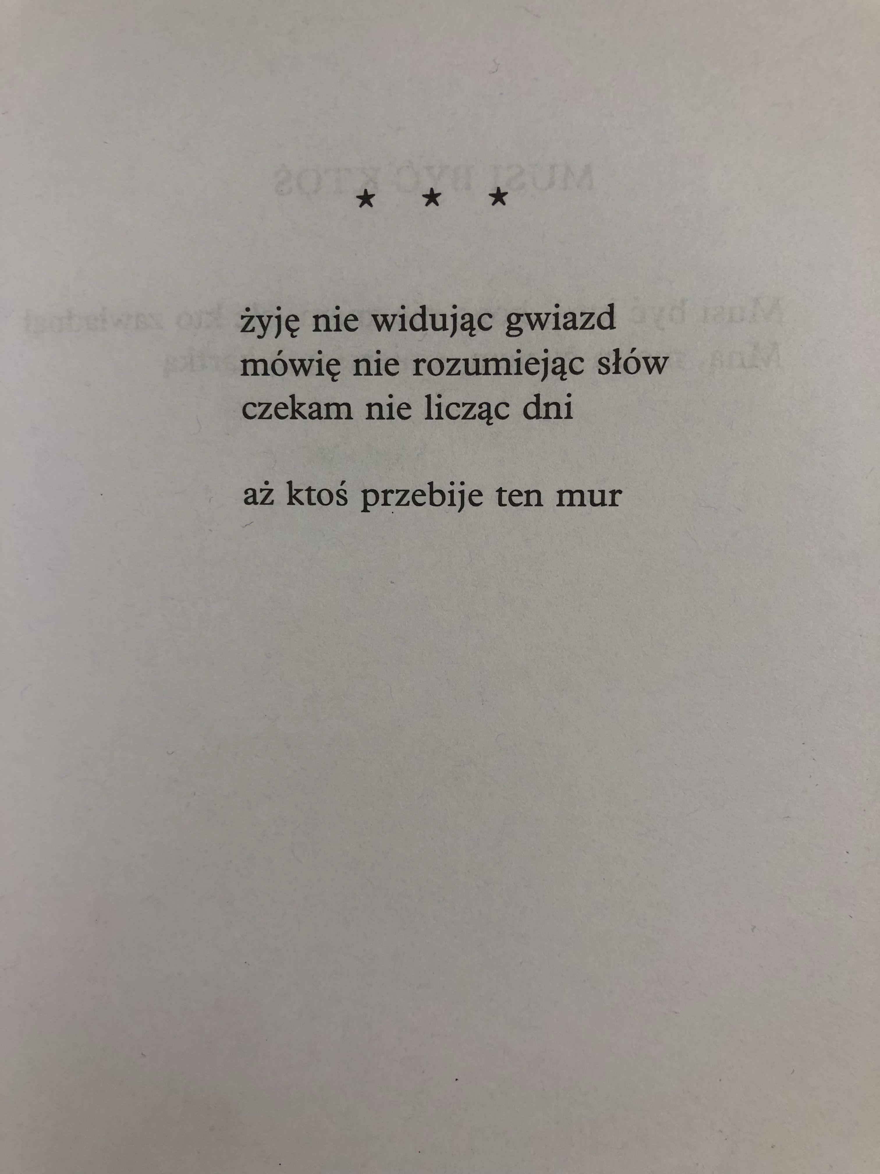 Wojaczek Quotations Poetry Quotes Life Quotes
