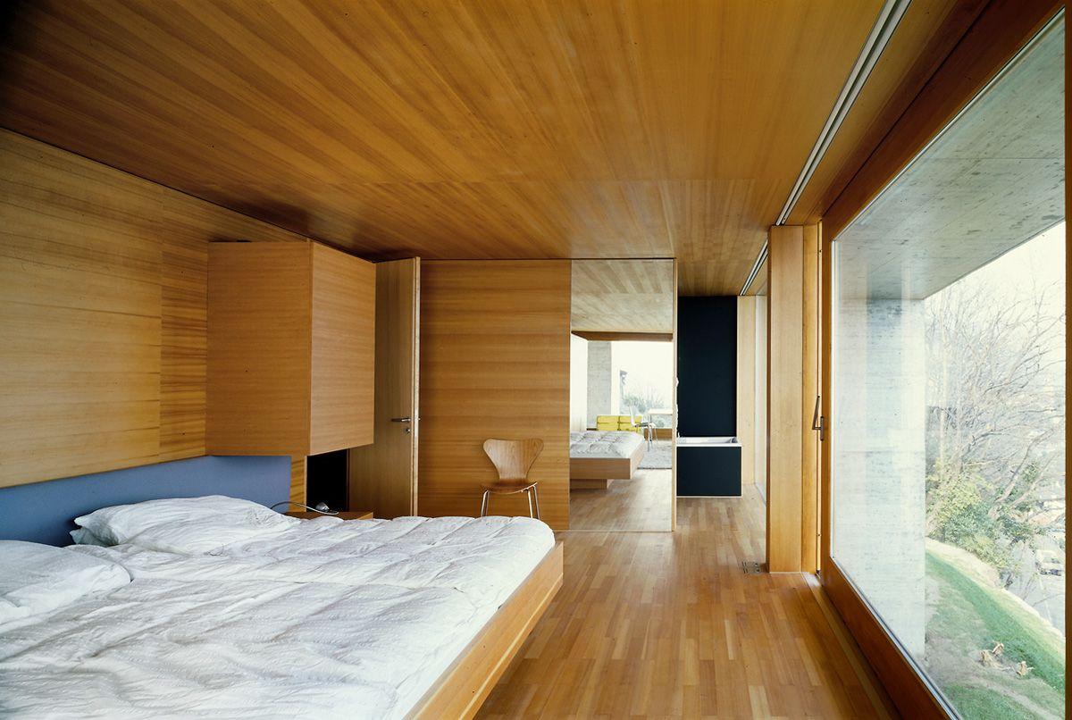 Livio vacchini e marco azzola casa koerfer ronco s for Idee architettura interni