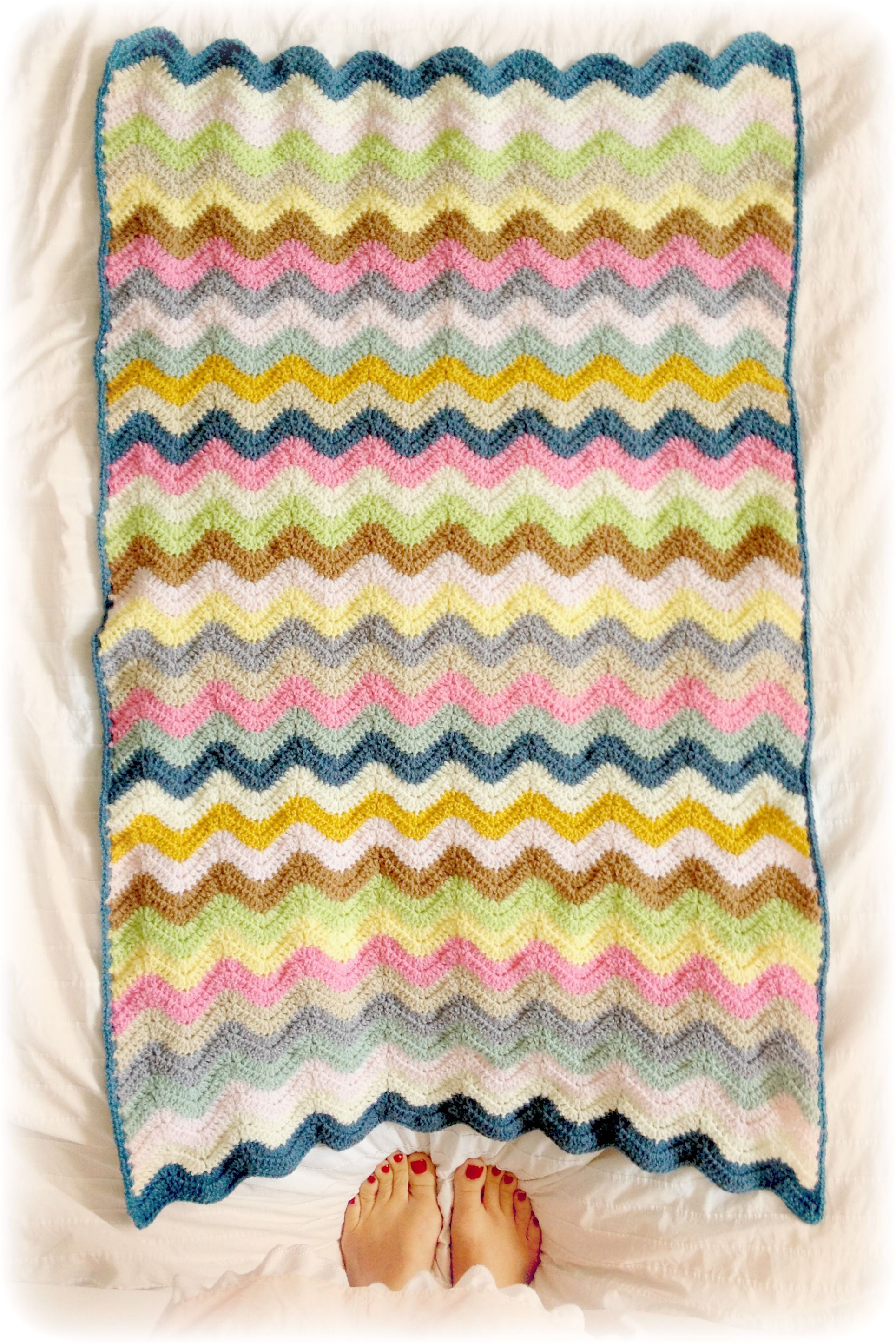 Make Some Waves\' crochet Blanket by Coco Rose Diaries | yarn diet ...