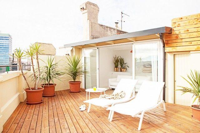 Un appartement avec terrasse à Barcelone
