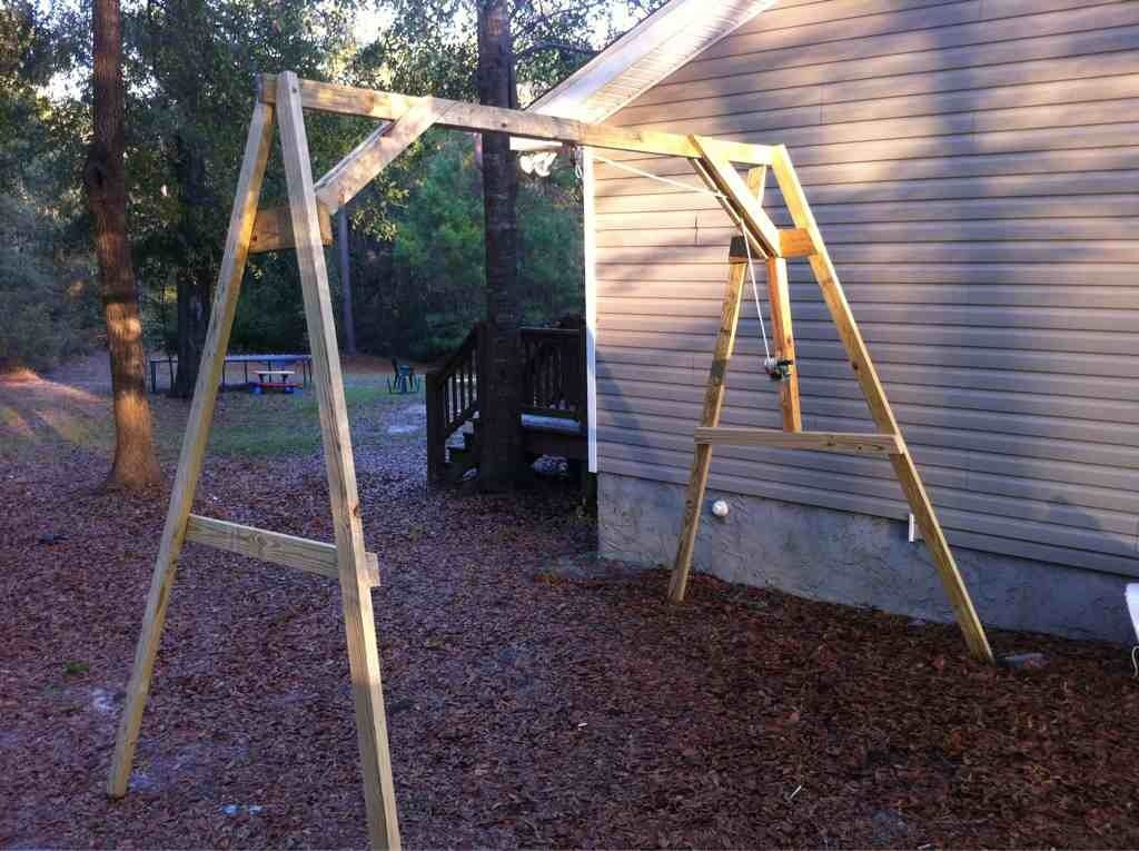 Diy wooden gantry crane wooden diy
