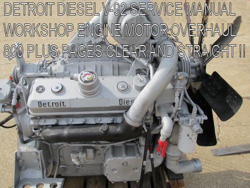 allison transmission wiring schematic detroit diesel series 92 service manual workshop repair  detroit diesel series 92 service manual workshop repair