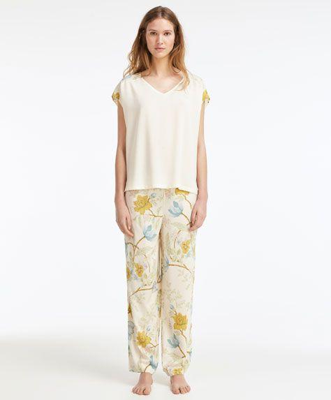 Access Denied Flower Shirt Nightwear Shirts