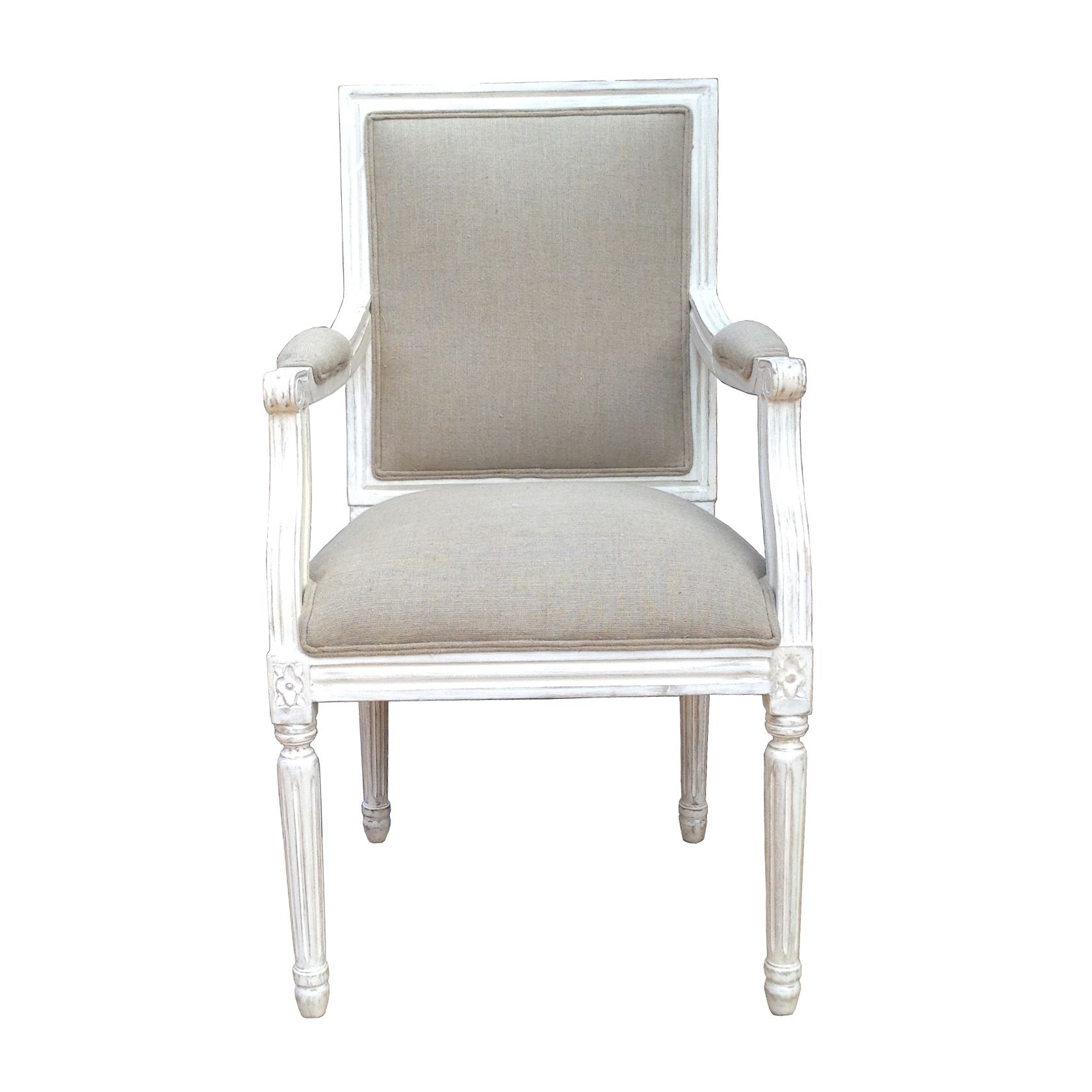Louis Style #ArmChair Featuring A Square Back With Comfortable Foam Filling  Seats. Buy This