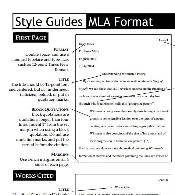 MLA Style Guide    wwwuvuedu owl infor pdf style_guides MLA - new example letters to a congressman