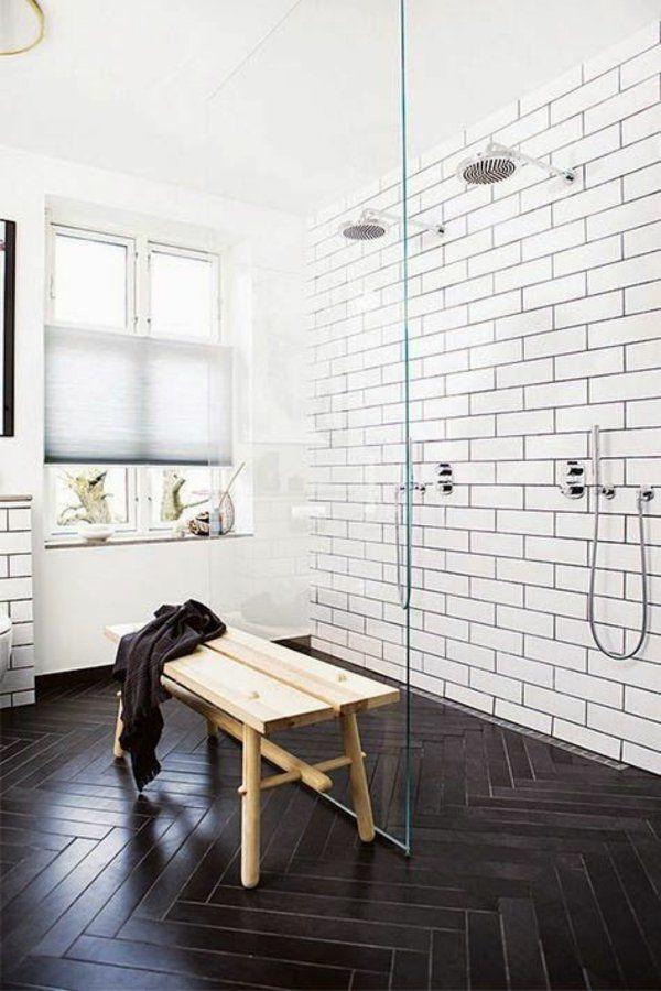 kleines bad fliesen helle fliesen lassen ihr bad gr er erscheinen badezimmer pinterest. Black Bedroom Furniture Sets. Home Design Ideas