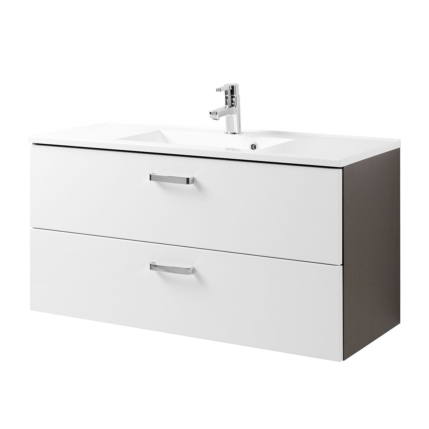 Waschtisch Zeehan - Weiß / Grau - 100 cm, Giessbach Jetzt bestellen ...