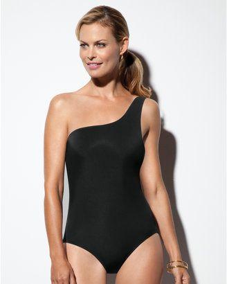 7f59946185 Spanx Shapewear Basix One Shoulder One Piece Swimsuit | My Style ...