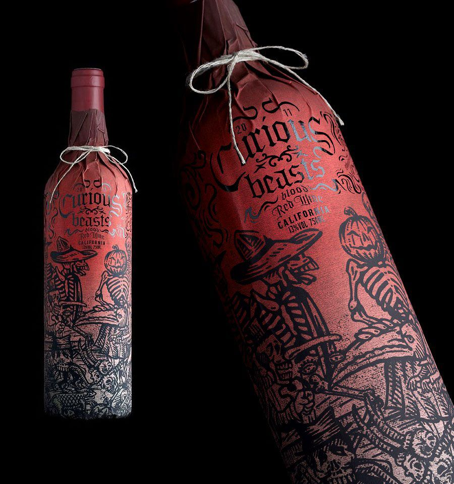 Graphic Exchange A Selection Of Graphic Projects Wine Design Wine Packaging Creative Packaging Design