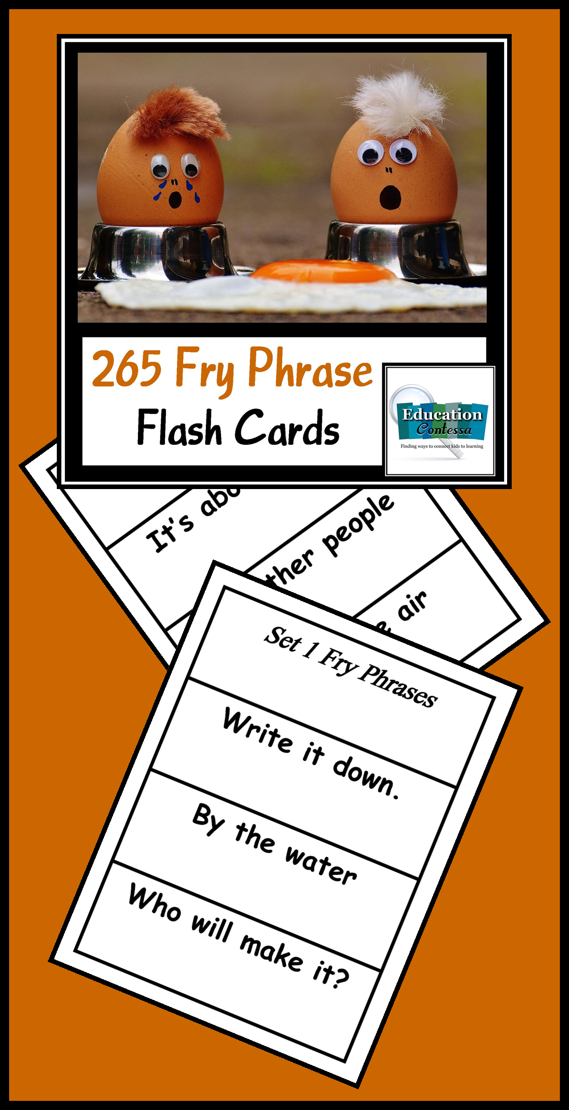 photograph relating to Fry Phrases Printable titled FRY Expression FLASH Playing cards FOR SIGHT Term FLUENCY Educate