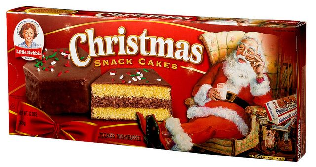 Gift for christmas with debbie cakes