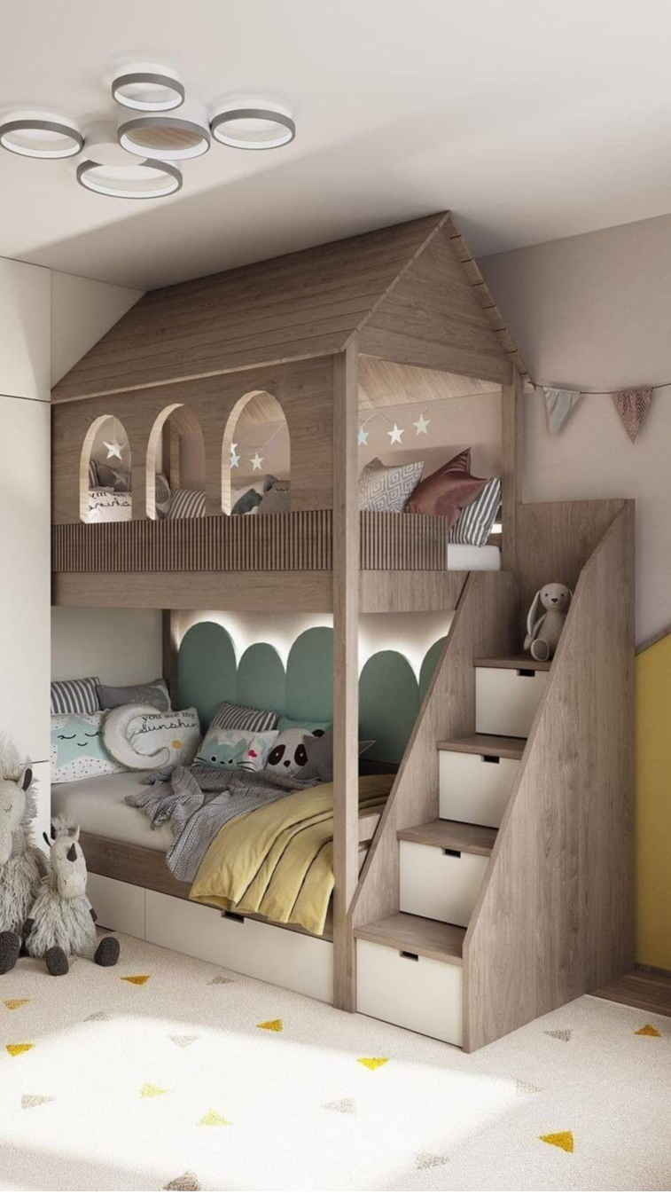 Luxurious beds for kids