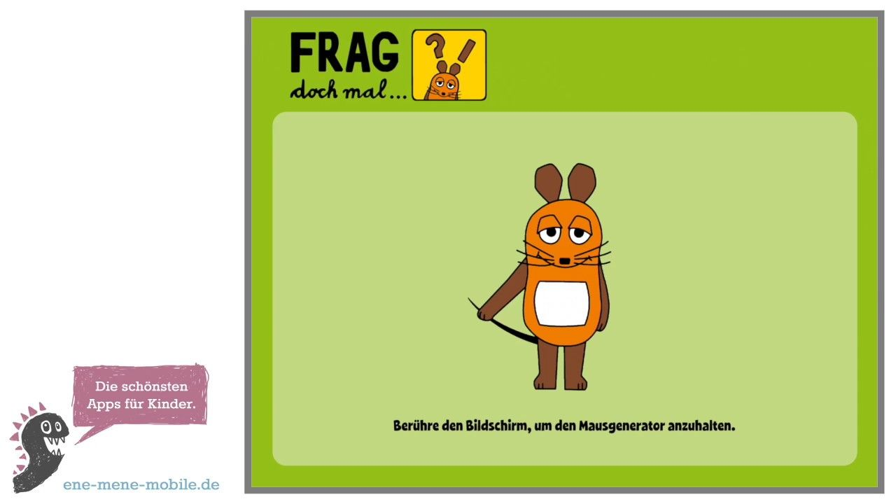 Lustige Kinder-Quiz-App 🐭 Frag doch mal die Maus 🐭 App